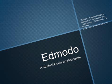 Edmodo Blue Valley | edmodo netiquette for elementary