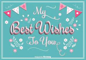 best wishes greeting card free vector stock graphics images