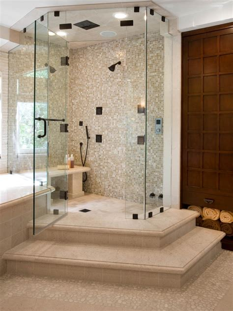spa inspired contemporary bathroom christopher grubb hgtv