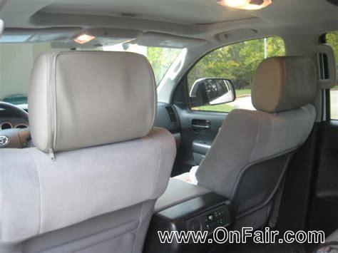 Toyota Headrest Dvd Headrest Dvd Player Install In 2012 Toyota Sequoia