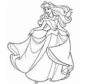 Princess Coloring Pages For Kids 2