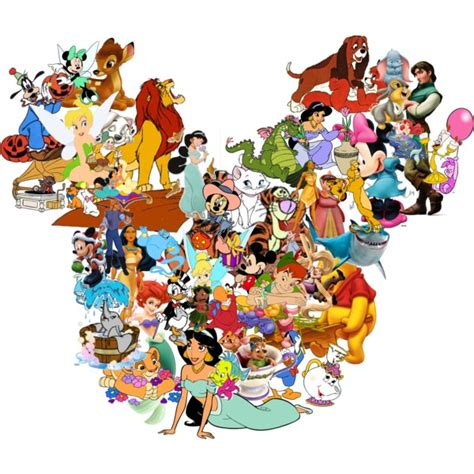disney character disney characters collage www imgkid the image kid