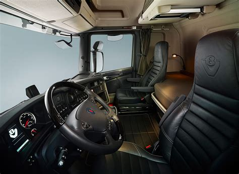 scania r730 interni cabina scania serie g road transporte