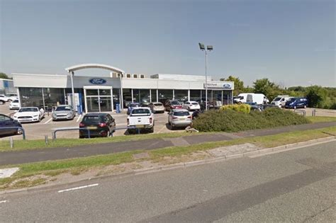 Car Dealers Ellesmere Port m53 ford in ellesmere port wrongly named in home office blunder chester chronicle