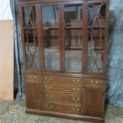 henkel harris china cabinet henkel harris mahogany china cabinet casey and gram