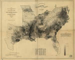 map of the u s population 1860