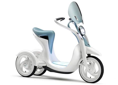Sepeda Scooter Anak Listrik Manual yamaha ec miu electric trike scooter concept news autos