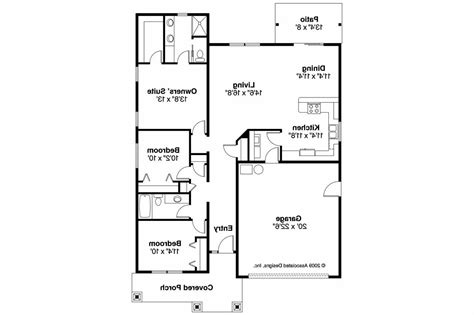 cottage designs floor plans cottage house plans preston 30 675 associated designs