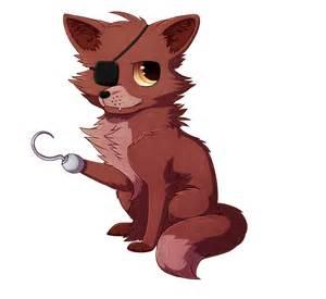 Foxy the pirate fox by acidneku on deviantart