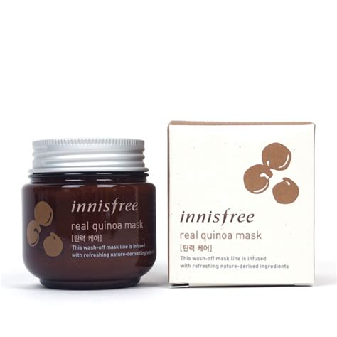 Innisfree Real Mask innisfree real quinoa mask review