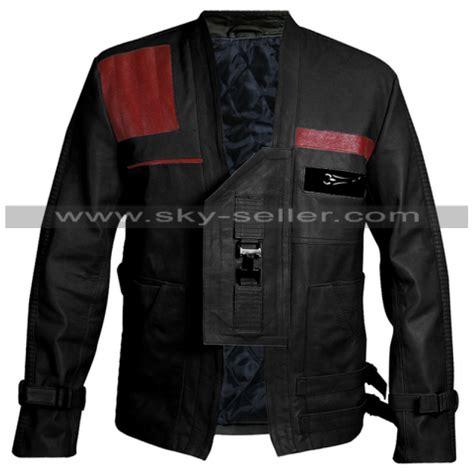 wars jacket wars awakens jacket finn pilot leather jacket