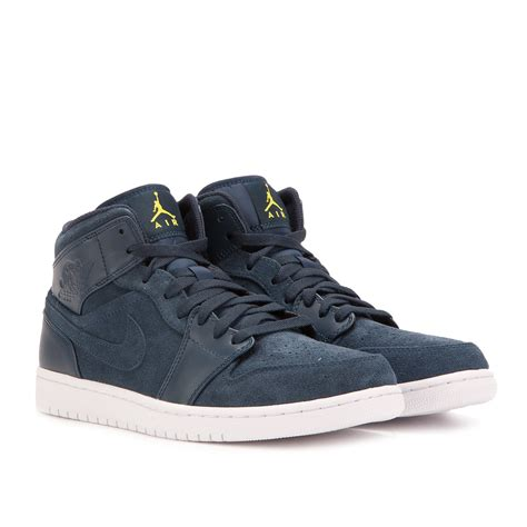 Nike Air 1 Navy by Nike Air 1 Mid Armory Navy 554724 421
