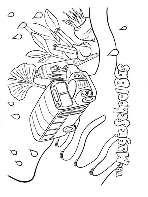 The Magic School Coloring Pages