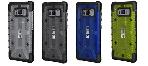 Uag Armor Gear Plasma Series Galaxy S8 Plus armor gear announces more phone cases for the galaxy s8 duo android community