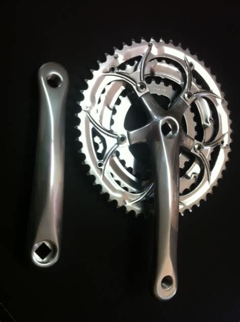 Fahrrad Kurbel Polieren by Cnc Bike Onlineshop Cnc Rennradkurbel 3 Fach 170mm 52 42