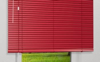 jalousie rot rote gardinen und vorh 228 nge f 252 r kreative fensterdeko