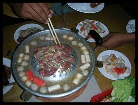 steamboat kelantan steamboat chim chum ala food village restaurant kelantan