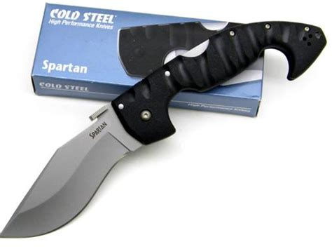 cold steel spartan knife knife knowledge tutorials and knife history knife review