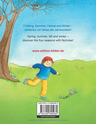 libro rund um das jahr rund um das jahr kinderbuch deutsch englisch all through the year corsi di lingue straniere