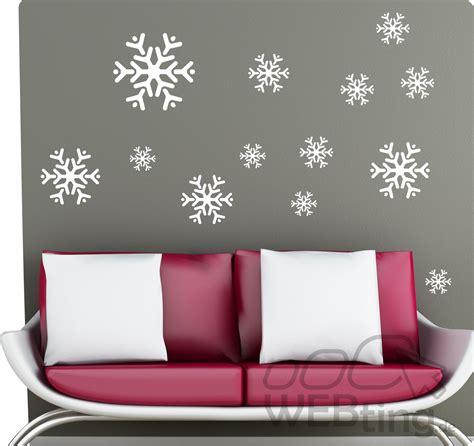 Fensterdeko Weihnachten Aufkleber schneeflocke winter fensterdeko fenster weihnachten