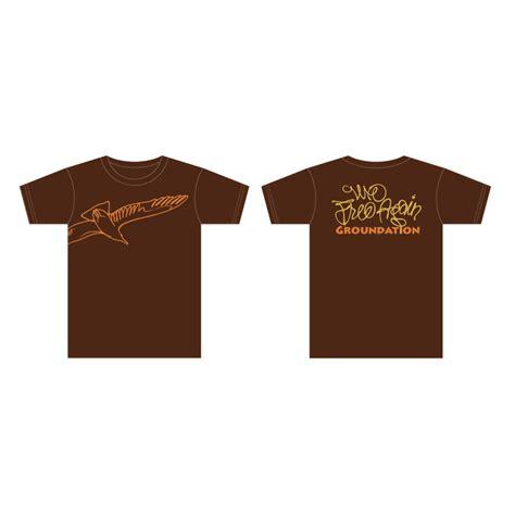 T Shirt Brown 01 groundation 187 we free tshirt brown