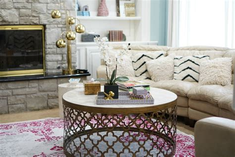 how to style a coffee table how to style your coffee table the op life
