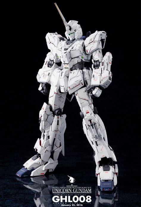 Kaos Gundam Unicorn Model 1 gundam pg 1 60 unicorn gundam customized build toys gundam and unicorns