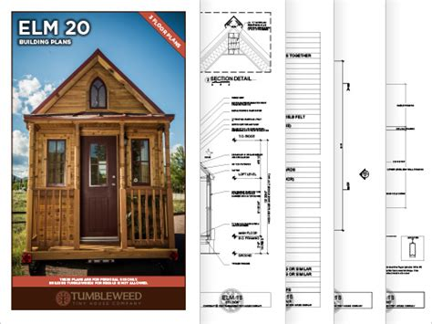 tiny house prints tiny house plans tumbleweed tiny house building plans