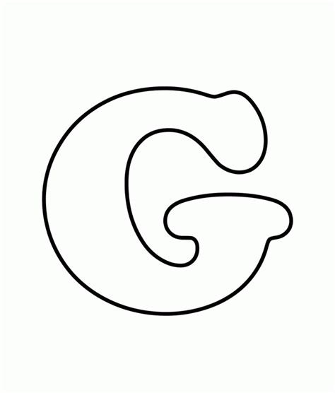 coloring pages of letter g letter g coloring pages coloring home