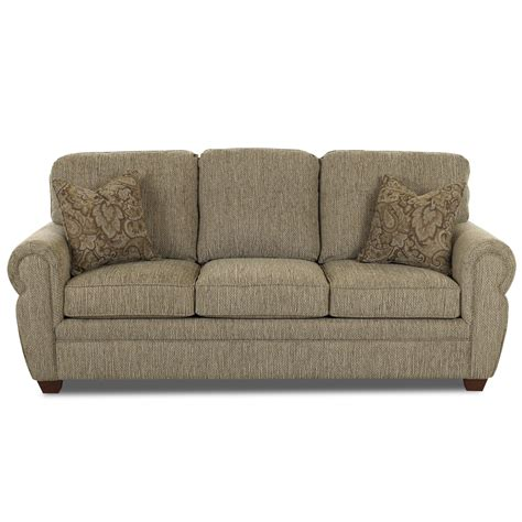 klaussner couch klaussner furniture christine sleeper sofa reviews wayfair