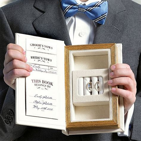 with this ring books a promise made vintage inspired wedding ring book box