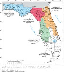 water districts map florida water science center water use