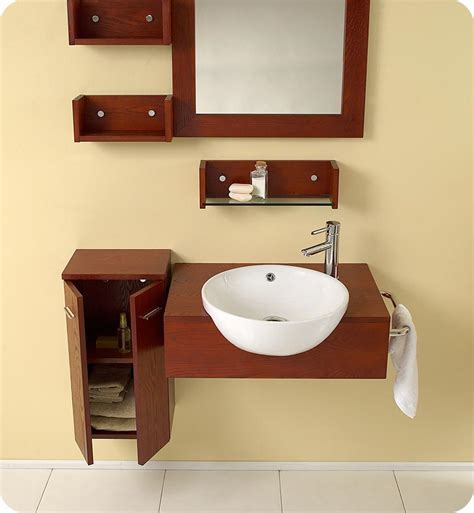 Ada Sinks And Vanities by 25 5 Fresca Stile Fvn3520 Modern Bathroom Vanity W Mirror Side Cabinet Bathroom