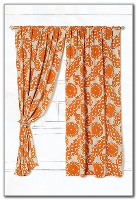 brown and burnt orange curtains burnt orange kitchen curtains curtains home design