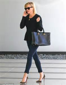 Reese Witherspoon To Beckham Look At Whos Wearing Your by Reese Witherspoon Looks Sophisticated In Peplum Top And