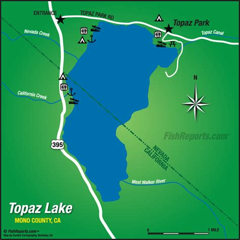 lake topaz topaz lake fish reports map