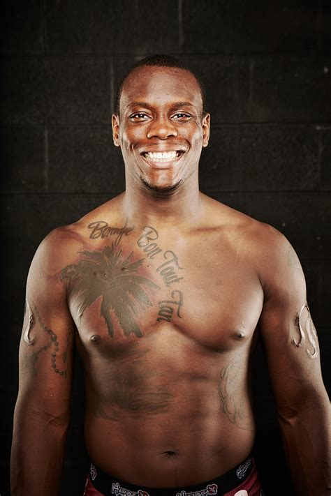 mma fighter ovince saint preux prepares for his biggest