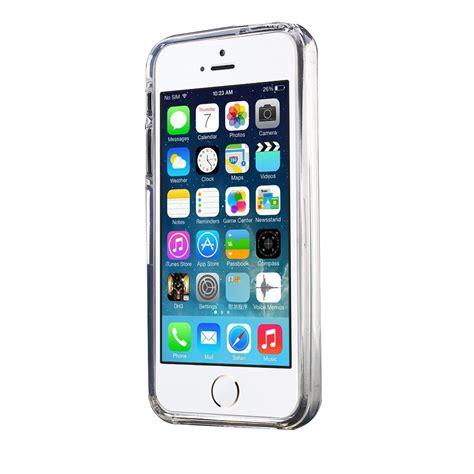 Iphone 77s Mercury Goospery Clear Jelly mercury goospery clear jelly tpu for iphone se 5s 5 transparent