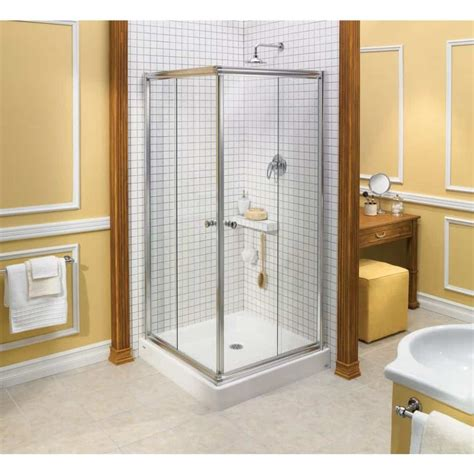 corner small enclosure with glass square frame for chic design great corner shower stalls for