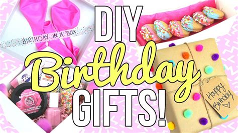 8 Gifts For From Co 250 by Diy Birthday Gifts Easy Cheap