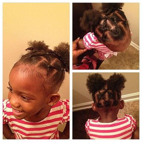 exceptional 2 year old black girl hairstyles 55 best images about a a kids natural hair on pinterest