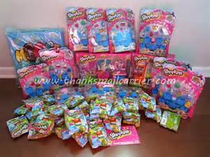 Thanks mail carrier once you shop you can t stop shopkins review