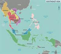 Map Of Southeast Asia Region  Maps Regional Political City