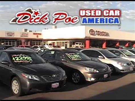 Dickpoe Toyota Poe Toyota Of El Paso Announcement Of Our