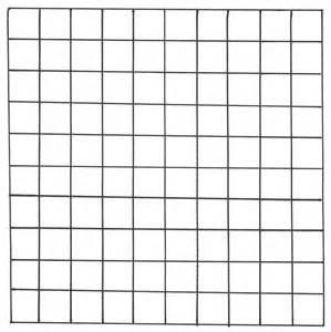 Printable 100 square grid paper