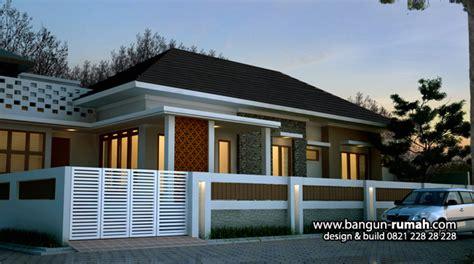 gambar rumah tropis 1 lantai studio desain rumah jakarta