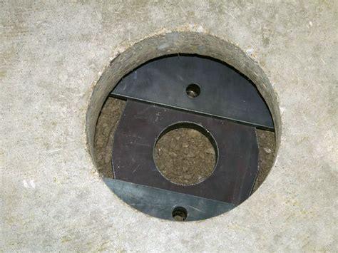 sinking settling concrete floor slab repair in eastern