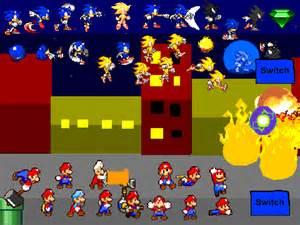 Mario vs sonic scene creator v 4 remix uptate on scratch