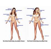 The Perfect Female Body According To Women &amp Men