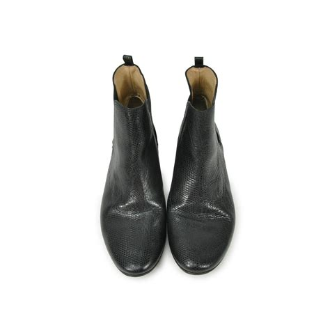 Original One Effect Crocodile Bib second repetto embossed chelsea boots the fifth collection